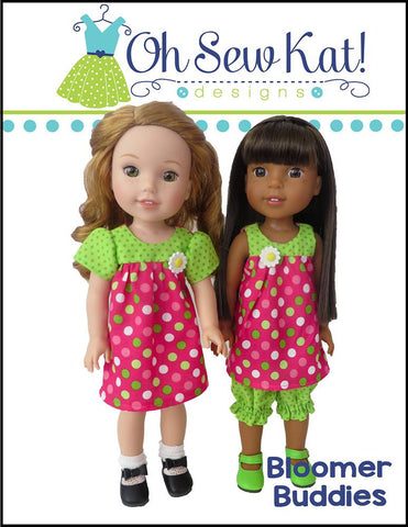 "Bloomer Buddies 14.5"" Doll Clothes Pattern"