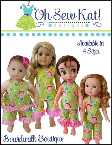 "Boardwalk Boutique 15"" Baby Doll Clothes Pattern"