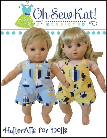 "HalterAlls for Dolls 15"" Doll Clothes"