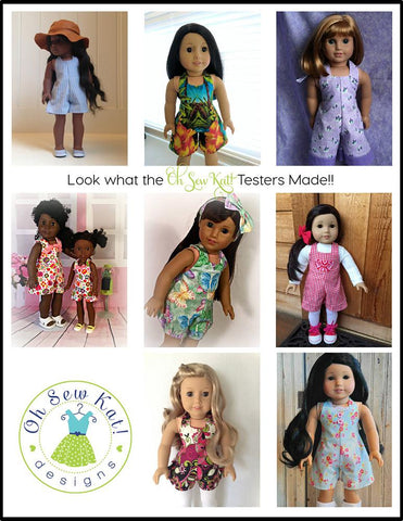 "HalterAlls for Dolls 18"" Doll Clothes"