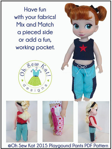 Playground Pants for Disney Animator Dolls
