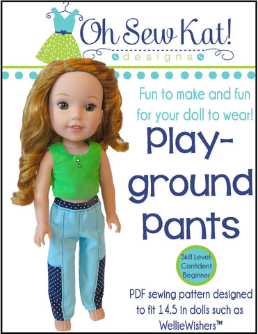 Playground Pants for WellieWishers Dolls