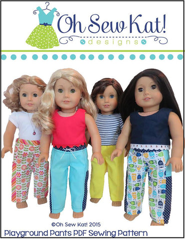 "Playground Pants 18"" Doll Clothes"