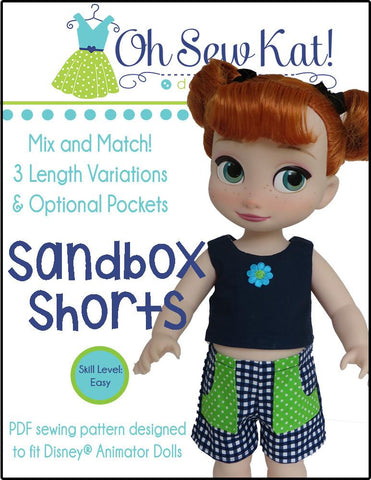 Sandbox Shorts For Disney Animator Dolls