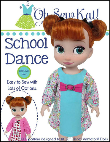 School Dance for Disney Animator Dolls
