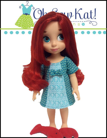 Sunshine Dress Pattern for Disney Animator Dolls