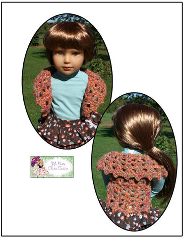 Ovation Vest Crochet Pattern for Kidz N Cats Dolls