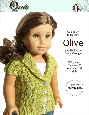 Olive Cardigan Knitting Pattern