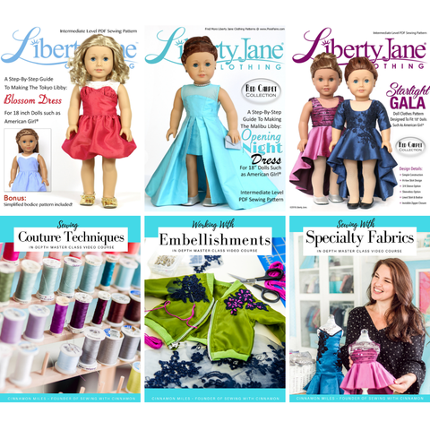 The Mini-Couturier Course Bundle!