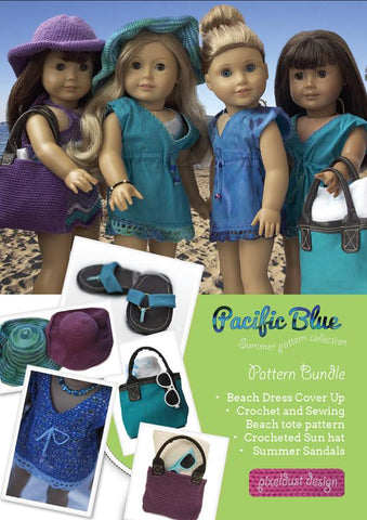 "Pacific Blue Bundle 18"" Dolls"