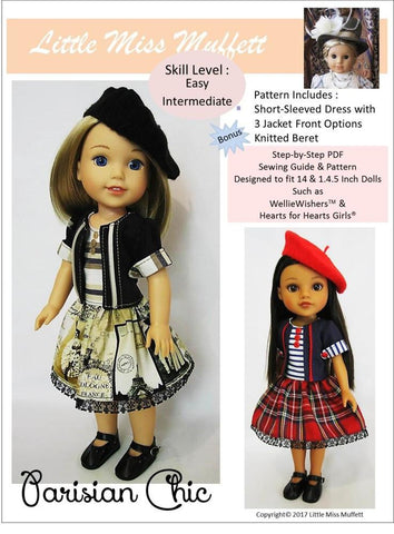 Parisian Chic for WellieWishers and Hearts For Hearts Girls Dolls