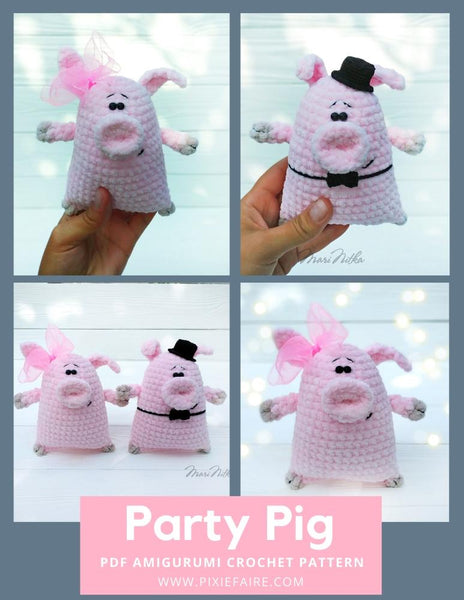 Pattern: Chinese New Year Pig - All About Ami | 600x464