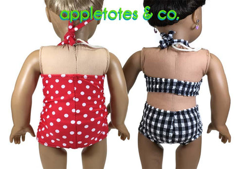 "Sanibel Swimsuit 18"" Doll Clothes Pattern"