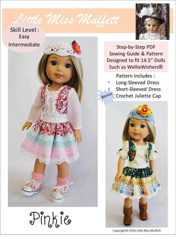 14.5 Inch Doll Dress Patterns For Welliewishers | Pixie Faire