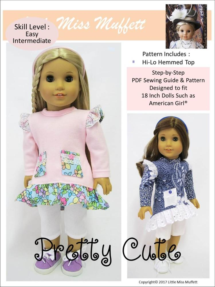18 Cute And Easy Diy Gift Ideas: Little Miss Muffett Pretty Cute Doll Clothes Pattern 18
