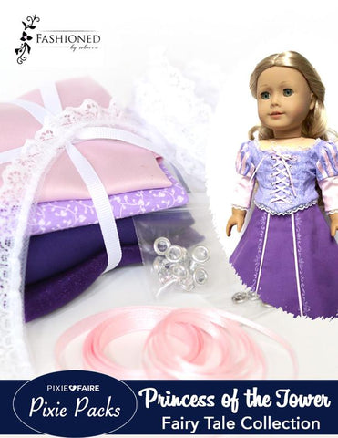 Pixie Packs Princess of the Tower Fairy Tale Collection