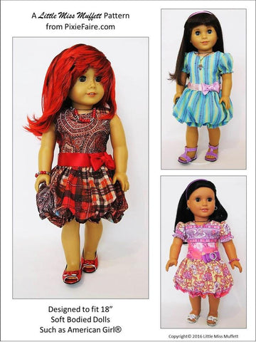 "Puff Dolly 18"" Doll Clothes"