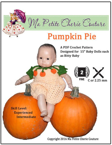 Pumpkin Pie Crochet Pattern