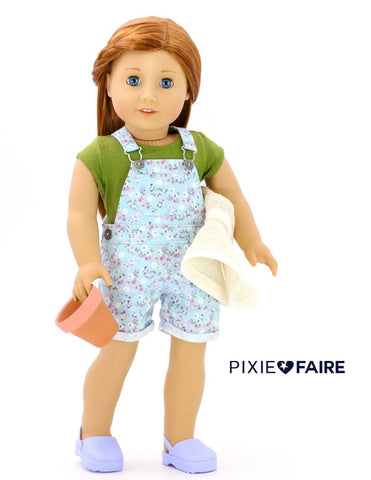 "Liberty Jane 18 Inch Modern FREE T-Shirt 18"" Doll Clothes Pattern Pixie Faire"