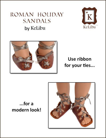 Roman Holiday Sandals for Journey Girls Dolls