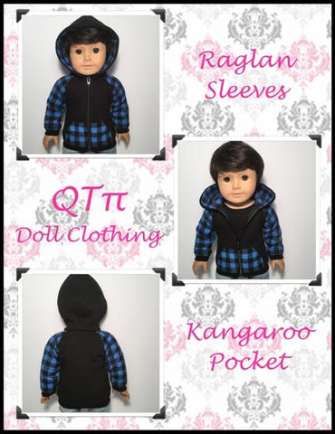 "Rough 'n' Tumble Hoodie 18"" Doll Clothes"