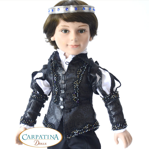pdf doll clothes sewing pattern carpatina renaissance doublet designed to fit 18 inch american girl boy dolls