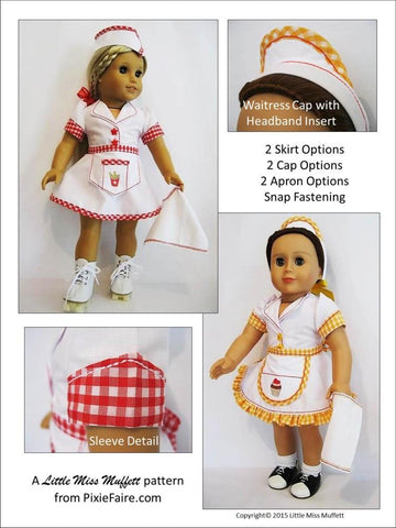 "Roadhouse Roller Skater 18"" Doll Clothes"