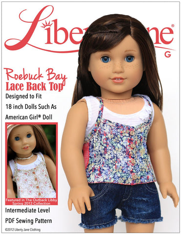 Liberty Jane 18 Inch Doll Clothes Patterns Page 2 Pixie Faire