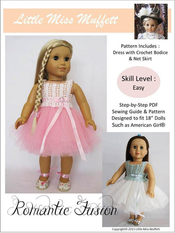 Little Miss Muffett Crochet Romantic Fusion Crochet Pattern Pixie Faire