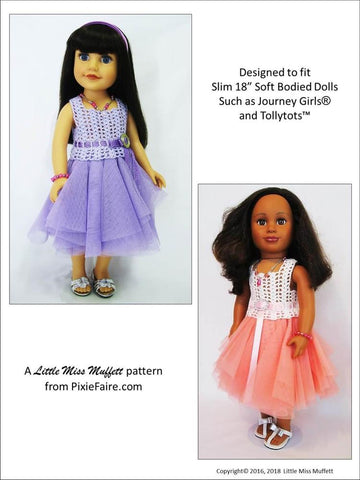 Romantic Fusion Crochet Pattern For Journey Girls Dolls