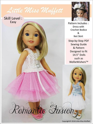 Doll Clothes Patterns For 145 Welliewishers Dolls Pixie Faire