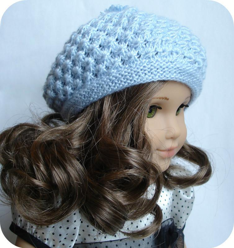 Rosamund Beret Knitting Pattern Pdf Download Pixie Faire