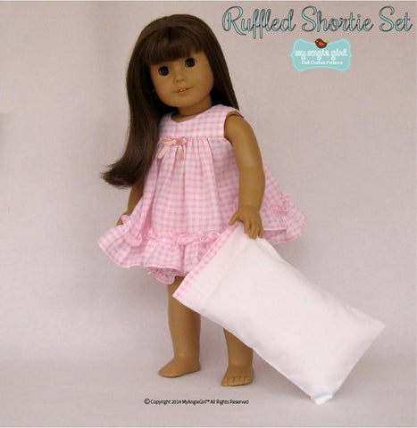 "Ruffled Shortie Set 18"" Doll Clothes"