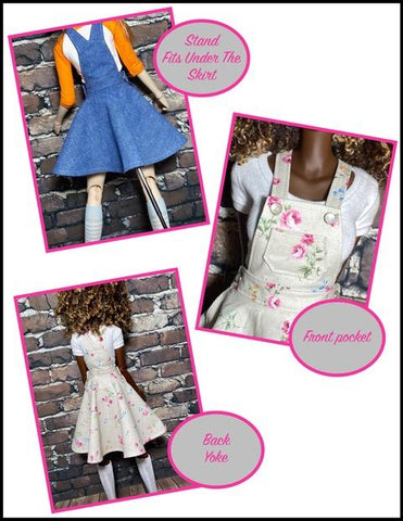 Oh My Gosh Skirtall Doll Clothes Pattern for Smart Doll®