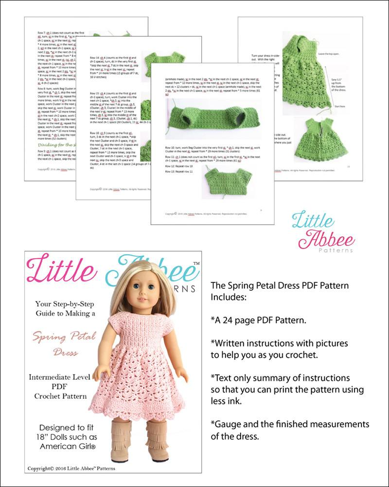 American Girl Doll Clothes 23 pattern by Susanne Fågelberg | Doll ... | 1000x800