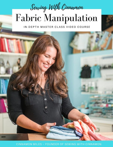Fabric Manipulation Master Class Video Course