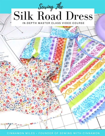 Sewing The Silk Road Dress Sew Along Course