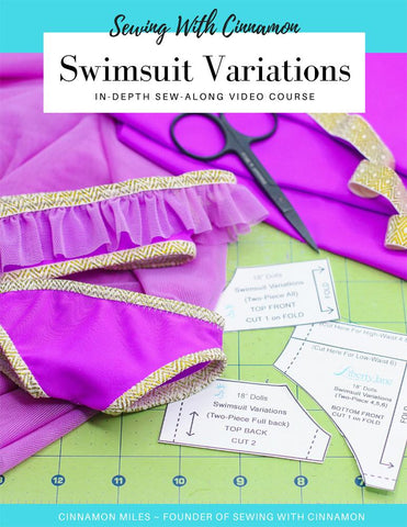 Swimsuit Variations Sew-Along Video Course