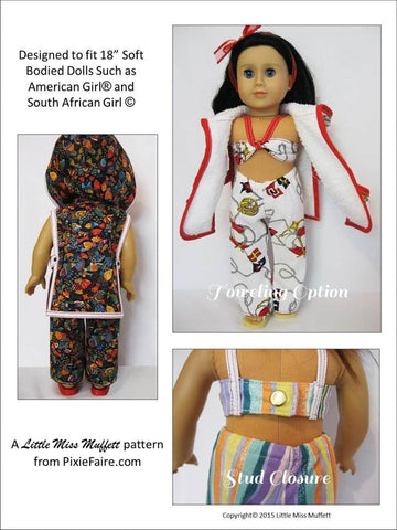 "Sailing Away 18"" Doll Clothes"