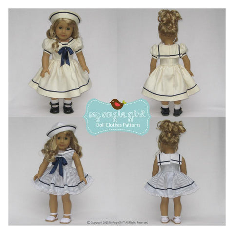 "Sailorette 18"" Doll Clothes"
