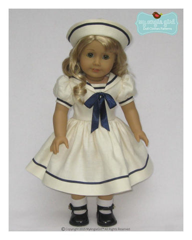 "My Angie Girl 18 Inch Modern Sailorette 18"" Doll Clothes Pixie Faire"