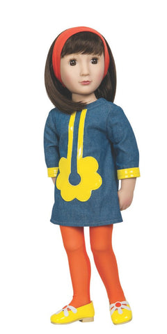 "Sam Your 1960s Girl - A Girl For All Time 16"" Doll"