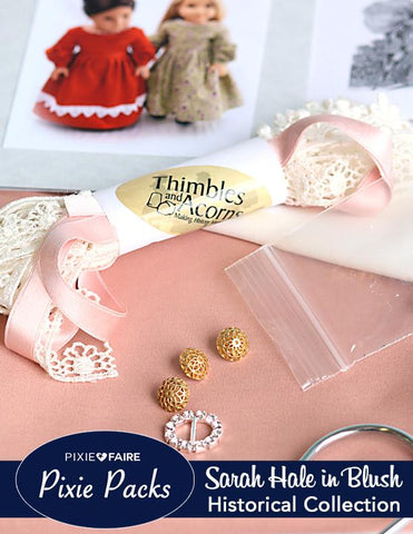 Pixie Packs Sarah Hale in Blush - Historical Collection