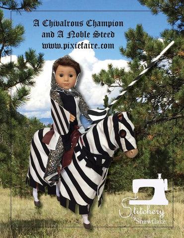 "A Noble Steed 18"" Doll Pet Pattern"