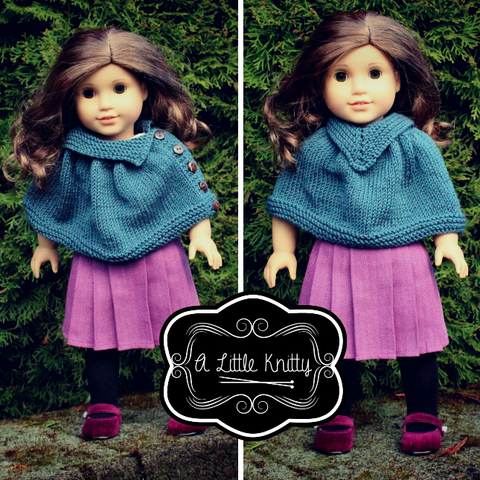 Pixie Packs Kimberly and Kristin in Denim Blue - A Little Knitty Collection