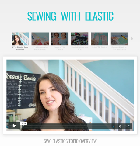 Sewing With Elastics Master Class Video Course