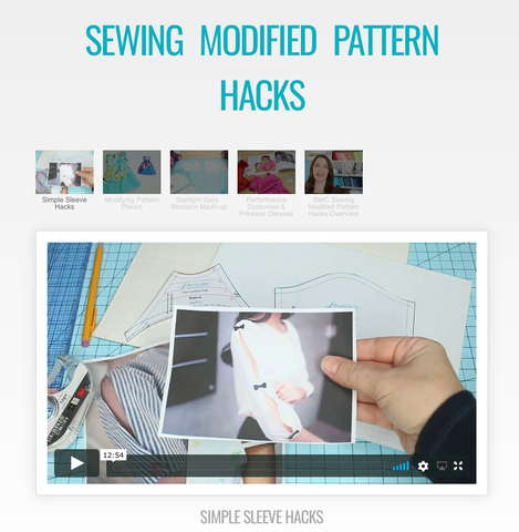 Sewing Modified Pattern Hacks Master Class Video Course
