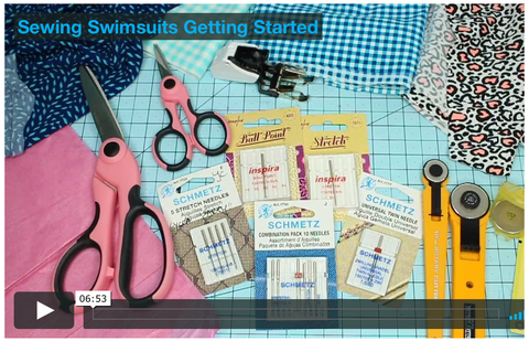Sewing Tiny Swimsuits Master Class Video Course