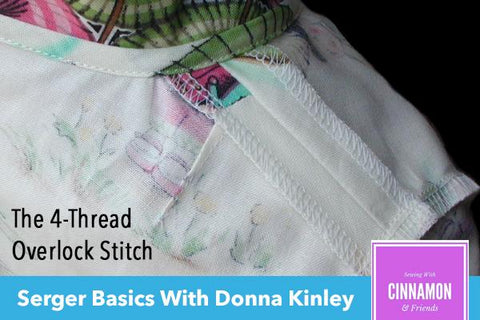 Serger Basics Master Class Video Course