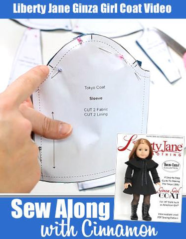 Sew Along With Cinnamon - Ginza Girl Coat